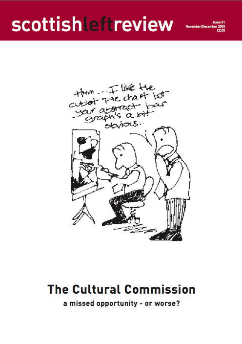 Issue 31: the cultural commission