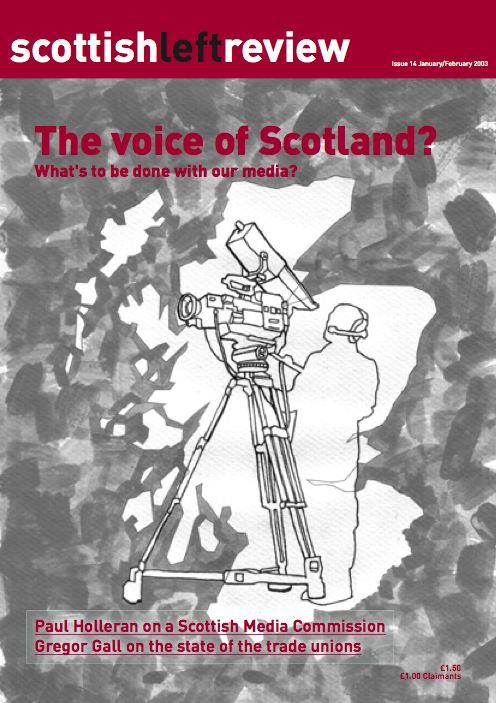 Issue 14: the voice of Scotland