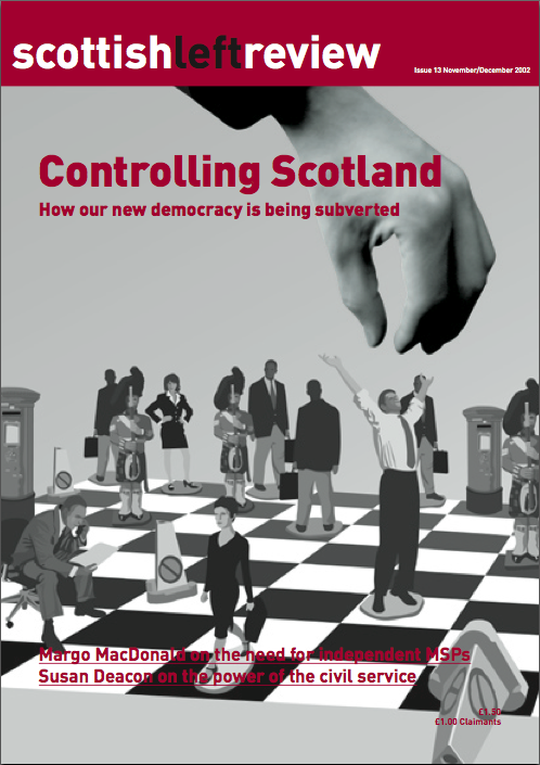 Issue 13: controlling Scotland