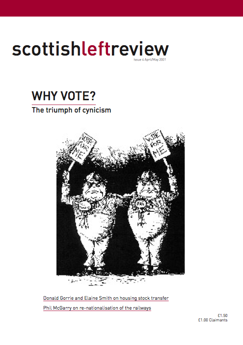 Issue 4: why vote?