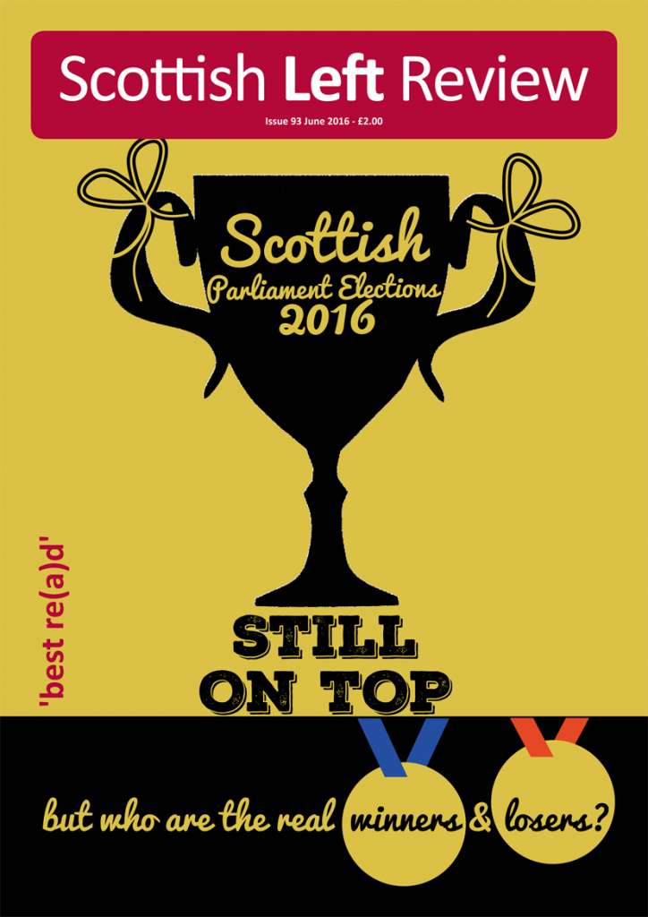 Issue 93: Scottish Parliament Elections 2016
